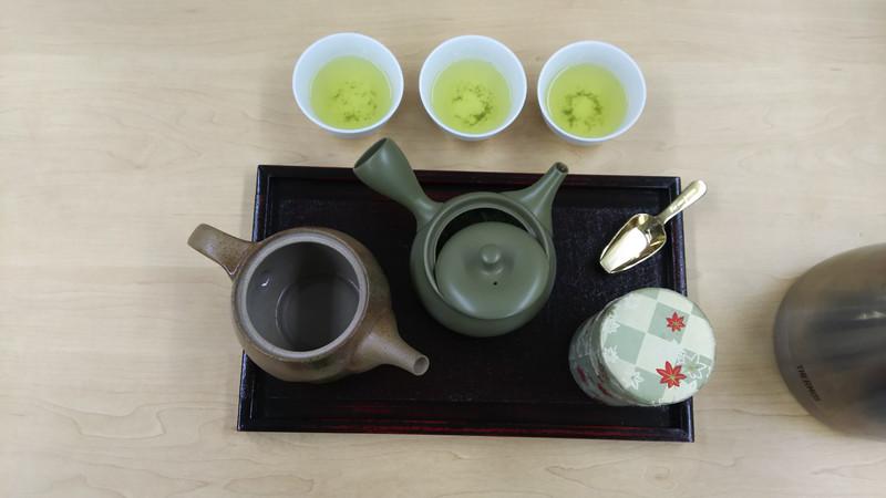 おいしいお茶の入れ方講座開催しました。